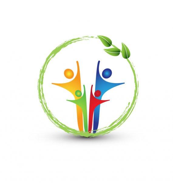 "depositphotos 17864715 stock illustration family and ecology system logo - ОАО ""ТНК"" Дастан"" реализует медицинскую технику"