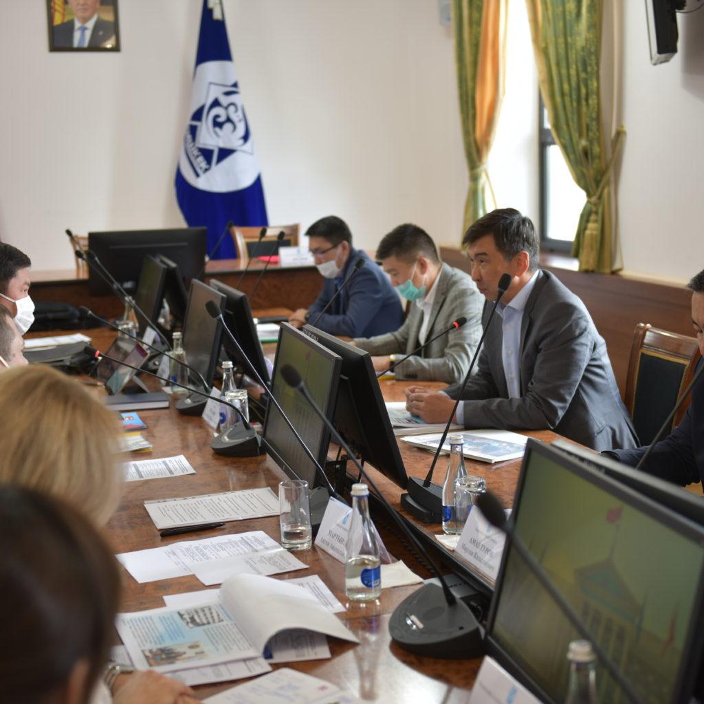 BEK 9555 1024x1024 - Встреча в мэрии города Бишкек